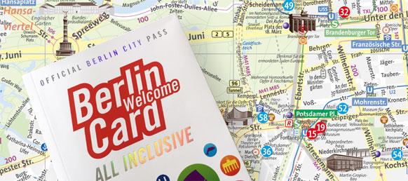 Stadtplan WelcomeCard all inclusive