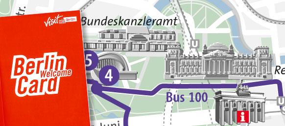 Stadtplan WelcomeCard
